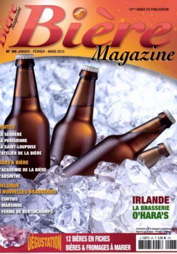 Bière Magazine – Janvier 2015