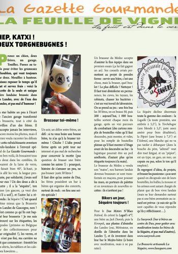 La Gazette Gourmande – Décembre 2013